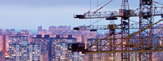 Cranes on skyline - NSF ISR Management System Registration