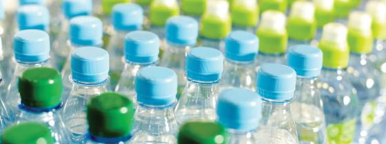 clear bottles in warehouse - NSF Product & Package Testing
